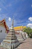 Pagoda en cielo azul Fotos de archivo