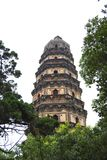 Pagoda en el bosque Imagen de archivo