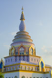 Pagoda en el templo de la tonelada de Tha imágenes de archivo libres de regalías