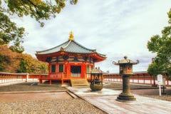 Pagoda en el templo de Naritasan Shinshoji, Narita, Japón El templo es p Imagen de archivo
