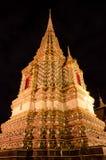 Pagoda en el templo de Wat Po Imagen de archivo