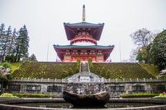 Pagoda en el templo del Narita-san Shinsho-ji, Imagenes de archivo
