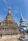 Pagoda en el templo tailandés 2 Fotografía de archivo