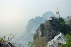 Pagoda en el top en Chiangmai Imagenes de archivo