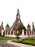 Pagoda en el Wat Arun, Bangkok Tailandia Foto de archivo libre de regalías