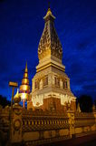 Pagoda en Esan de Tailandia Fotografía de archivo libre de regalías