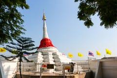 Pagoda en fondo bluesky fotografía de archivo
