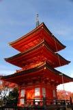 Pagoda en Japón fotografía de archivo