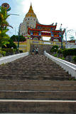 Pagoda en Kek Lok Si, Penang foto de archivo