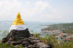 Pagoda en Koh Sri chang Imagen de archivo