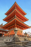 Pagoda en Kyoto Japón Fotografía de archivo libre de regalías