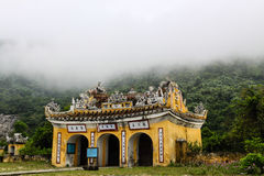 Pagoda en la isla del Cham Foto de archivo libre de regalías