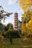 Pagoda en los jardines de Kew Fotos de archivo
