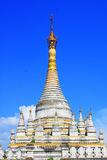 Pagoda en Maha Aungmye Bonzan Monastery, Innwa, Myanmar Imagen de archivo