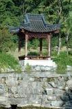 Pagoda en parque de la ciudad de Shaoxing Fotografía de archivo
