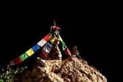 Pagoda en pierre d'homme Photos libres de droits