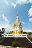 Pagoda en templo Imagenes de archivo