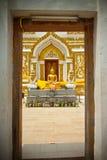 Pagoda en templo Fotos de archivo libres de regalías