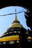 Pagoda en Thaïlande du nord Photographie stock libre de droits