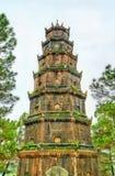 Pagoda en tonalidad, Vietnam de Thien MU imagen de archivo libre de regalías