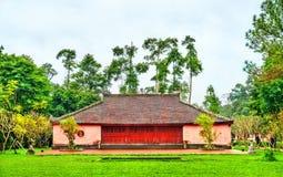 Pagoda en tonalidad, Vietnam de Thien MU imagen de archivo