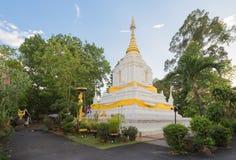 Pagoda en Wat Cang Kump, Wiang Kum Kam, Chiangmai Fotografía de archivo