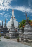 Pagoda en Wat Mahathat, province de Nakhon Si Thammarat Thaïlande Photographie stock