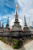 Pagoda en Wat Mahathat, province de Nakhon Si Thammarat Thaïlande Image stock