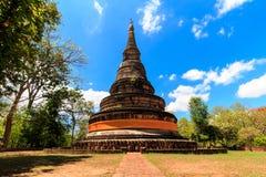 Pagoda en Wat Umong de Chiang Mai en Tailandia septentrional Fotos de archivo libres de regalías