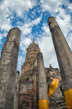 Pagoda et image de Bouddha photo libre de droits