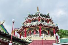 Pagoda för Cebu Taoisttempel Royaltyfria Bilder