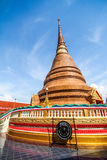 Pagoda at a famous temple in north-eastern of Thailand Stock Images