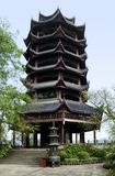 Pagoda at Fengdu County Stock Image