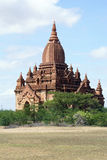 Pagoda on the field Stock Image