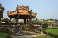 Pagoda at Forbidden City in Hue, Vietnam Stock Image