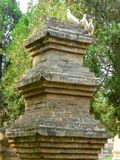 The Pagoda Forest in Shaolin Temple Stock Image