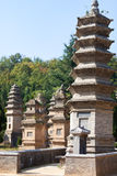 Pagoda Forest, Shaolin Temple Stock Photography