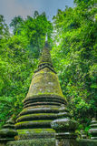 Pagoda in forest, Thailand Royalty Free Stock Images