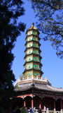Pagoda on the Fragrant Hills Stock Image