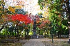 Pagoda in the Garden Stock Photo