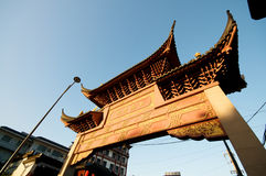 Pagoda Gate Royalty Free Stock Photos