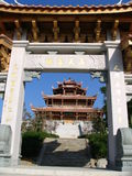Pagoda and gate. Old pagoda in Quanzhou, China Royalty Free Stock Images