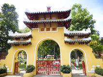 Pagoda gate Royalty Free Stock Photo