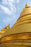 Pagoda gemellare dell'oro immagini stock