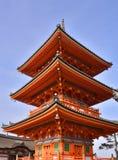 Pagoda giapponese fotografia stock libera da diritti
