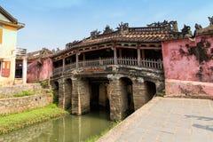 Pagoda giapponese del ponte in Hoi An, Vietnam fotografia stock libera da diritti