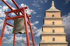 Pagoda gigante dell'oca selvatica, provincia di Xian (Sian, Xi'an), Shaanxi, Cina Fotografia Stock