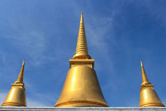 Pagoda gold Stock Images