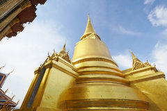 The pagoda in the Grand Palace in Bangkok Stock Image
