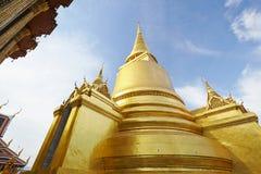 The pagoda in the Grand Palace in Bangkok Stock Image